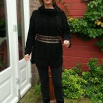 Fashion failures with a big black sweater
