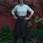 Brown sheer skirt, part 3 en last