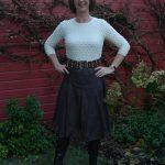 Brown sheer skirt, part 3 en last