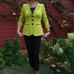 Lemon green jacket