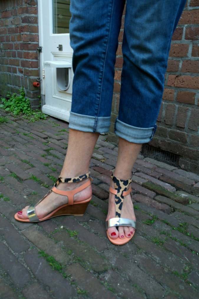 Leopard summer sandals 5