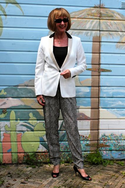 Tuxedo, a smoking suit for women