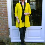 Yellow LaDress tunic with skinnies
