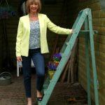 Yellow summer jacket