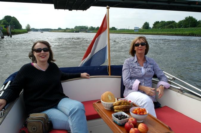 Boating in Amsterdam 1