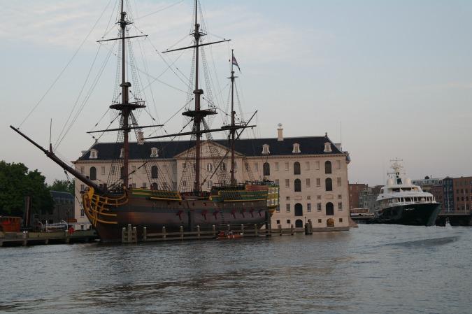 Boating in Amsterdam 18