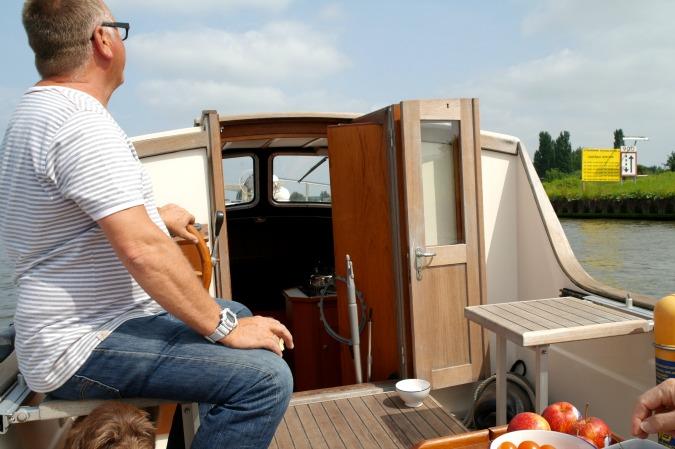 Boating in Amsterdam 2