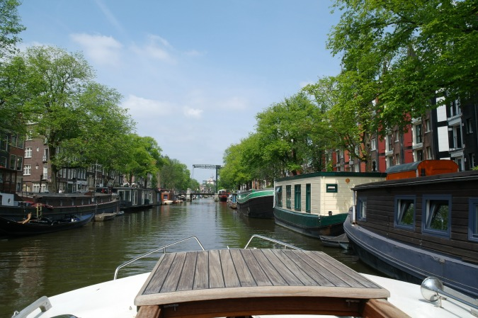 Boating in Amsterdam 3