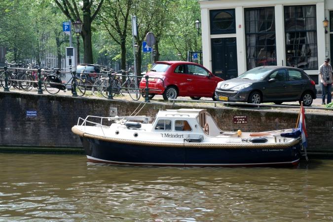Boating in Amsterdam 4