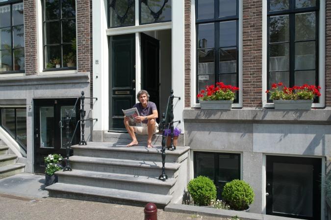 Boating in Amsterdam 6