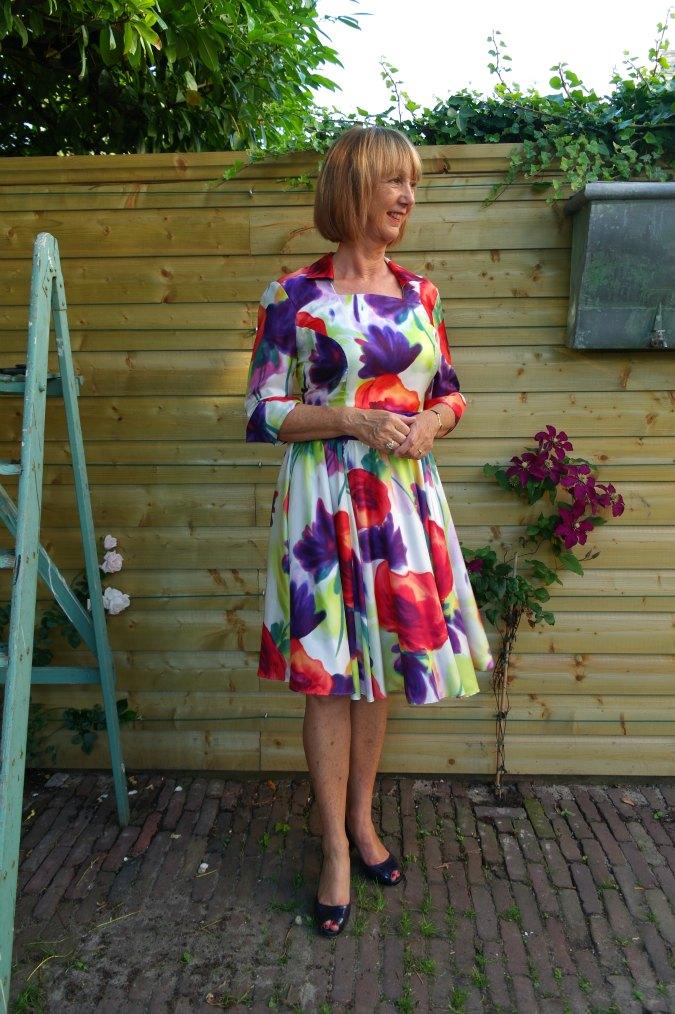 Summer flower dress 1