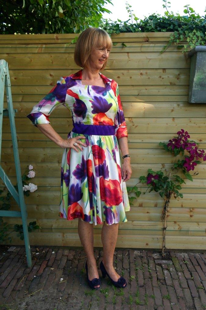 Summer flower dress 2