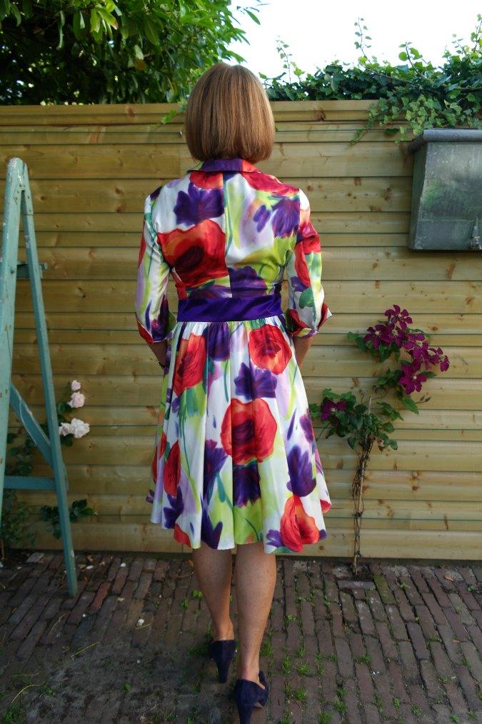 Summer flower dress 3