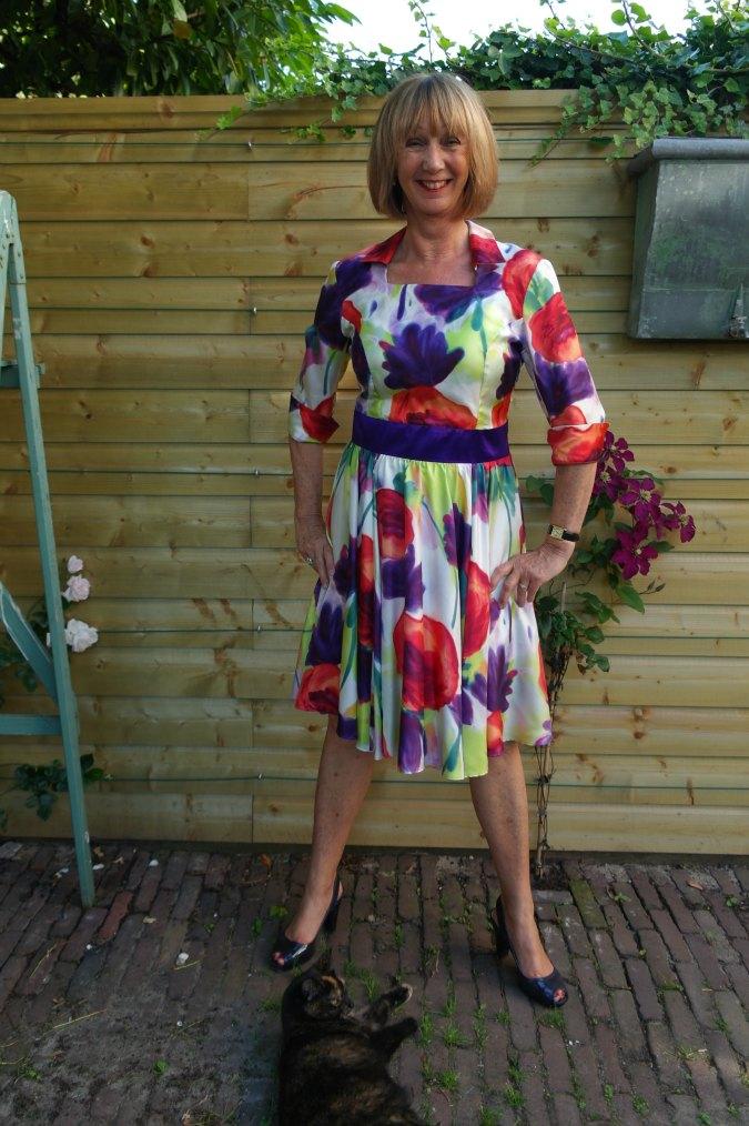 Summer flower dress 4