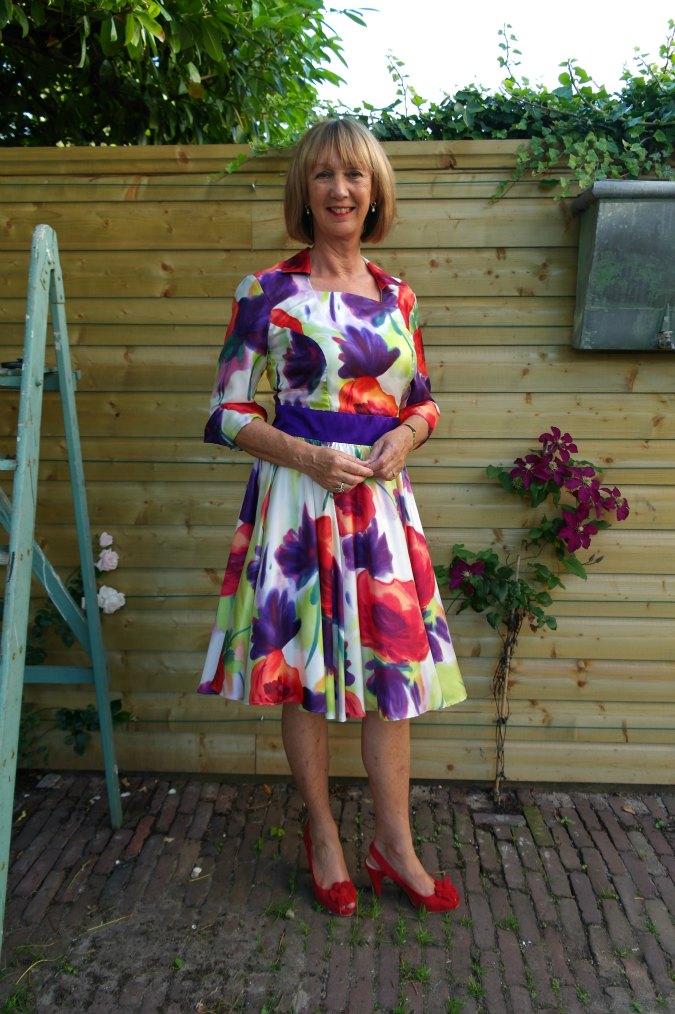 Summer flower dress 5