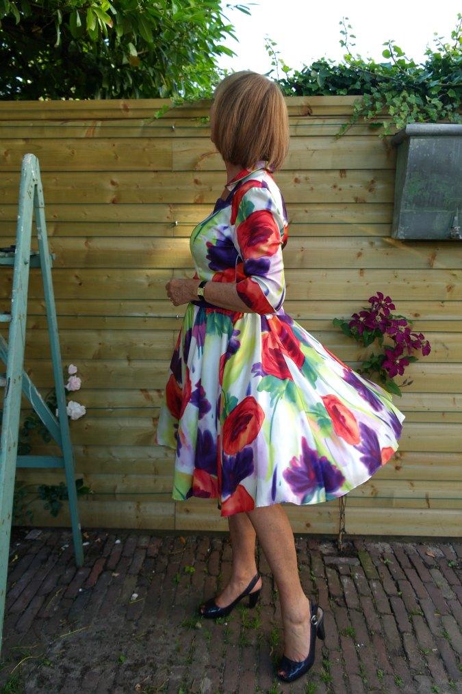 Summer flower dress 6