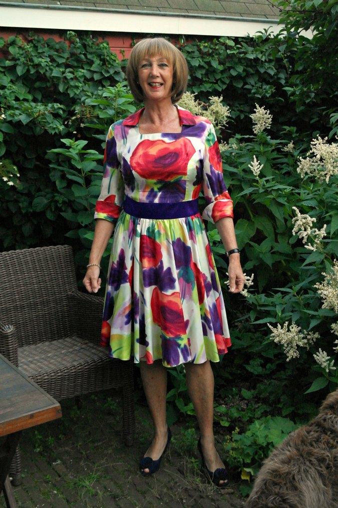 Summer flower dress 7
