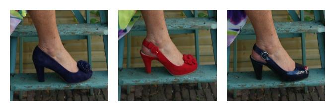 Summer flower dress shoes