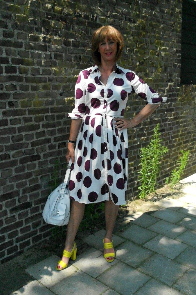 White purple dress 5