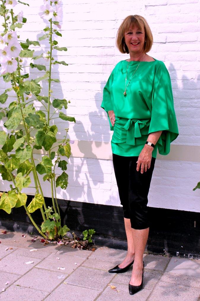 Green kimono top 1