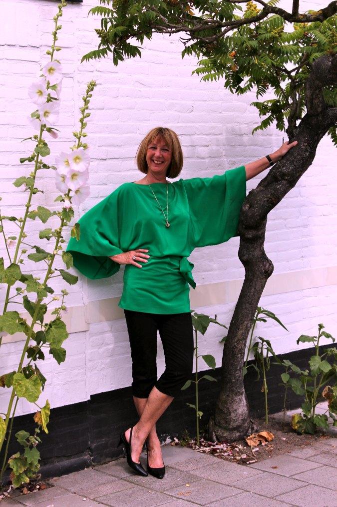Green kimono top 3