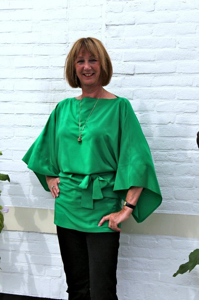Green kimono top 4