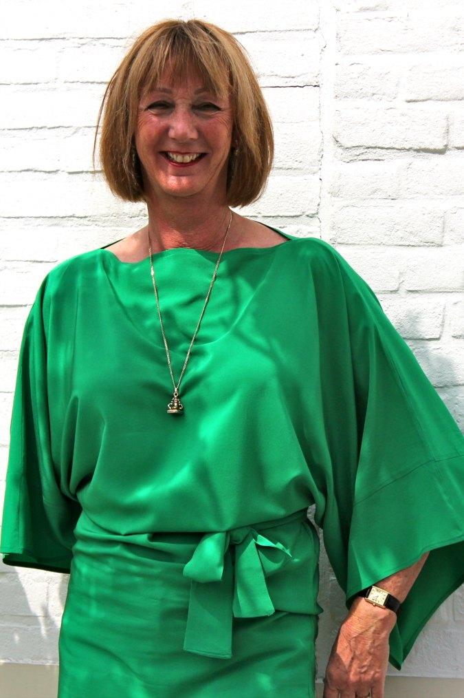 Green kimono top 5