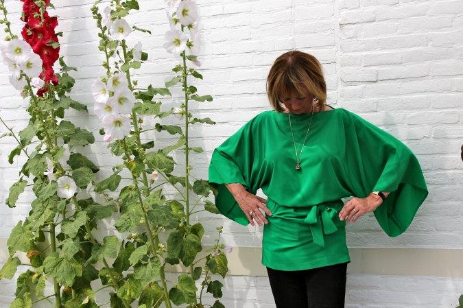 Green kimono top 6