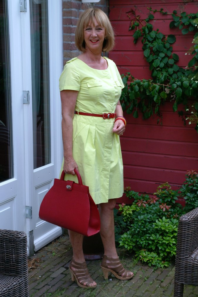 Yellow summer dress 10