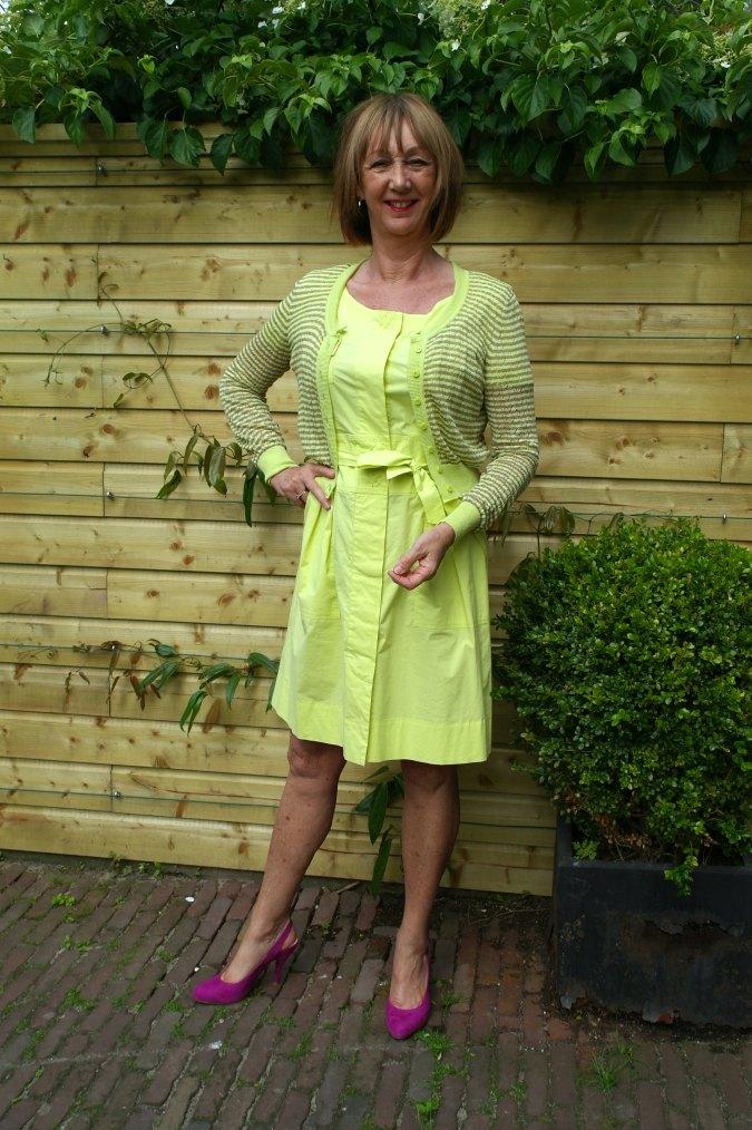 Yellow summer dress 2
