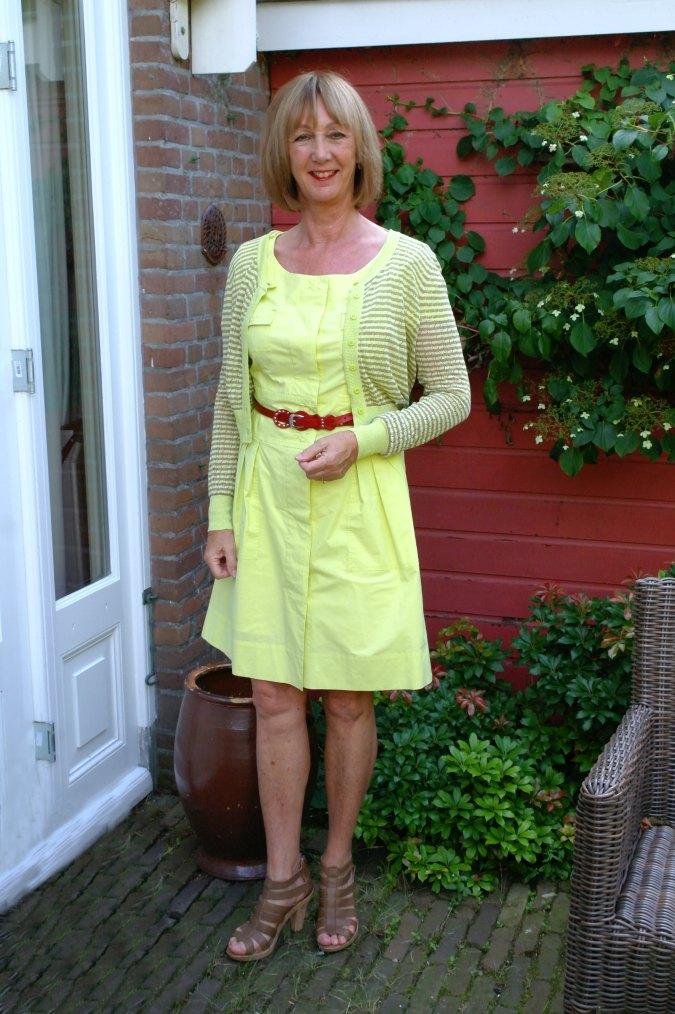Yellow summer dress 3