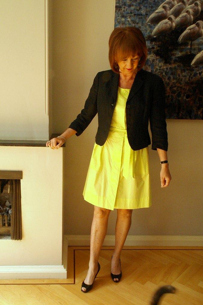 Yellow summer dress 4
