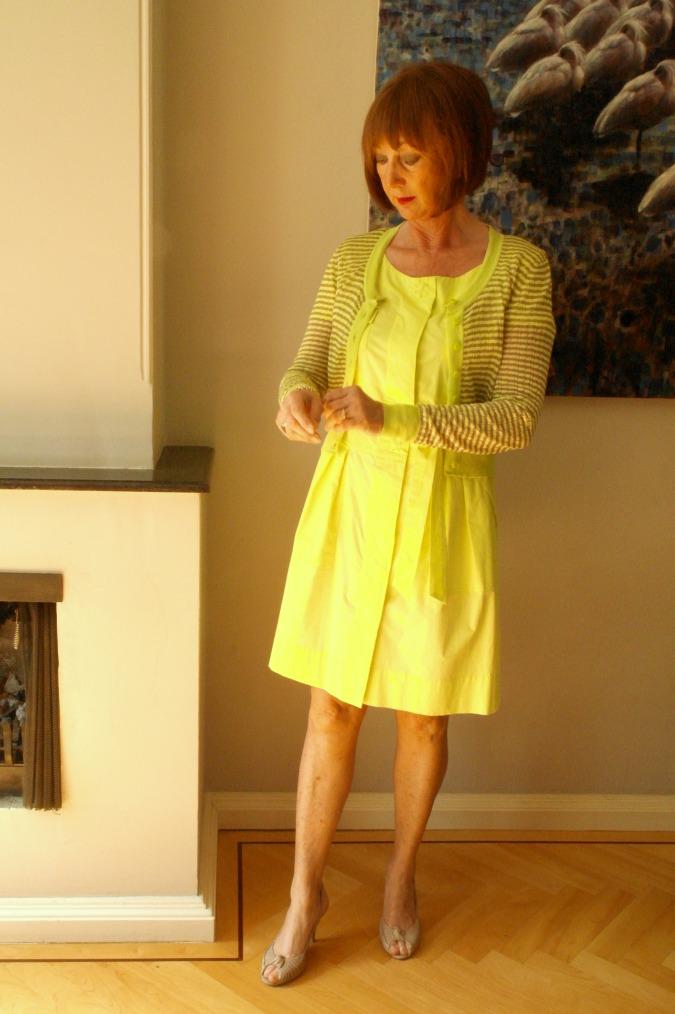 Yellow summer dress 5