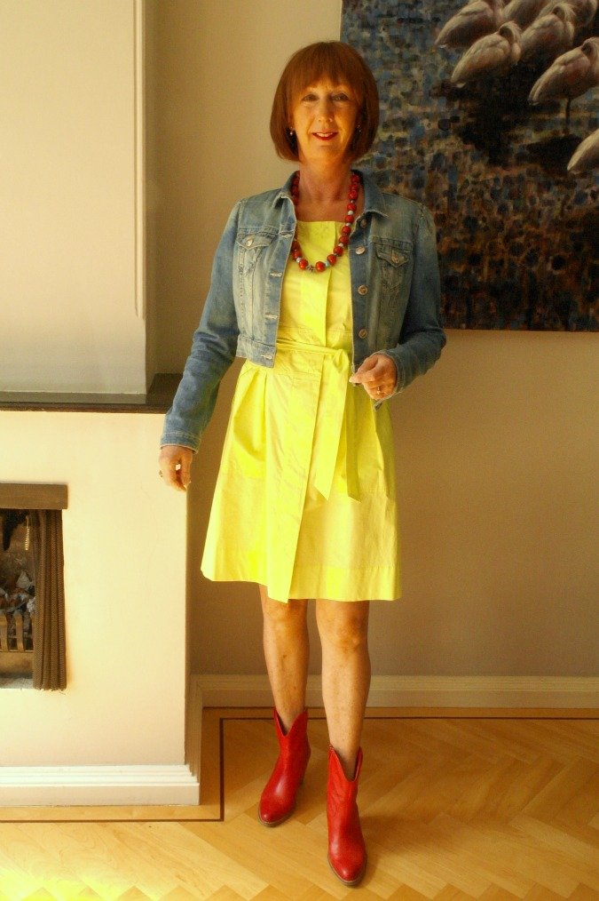 Yellow summer dress 6