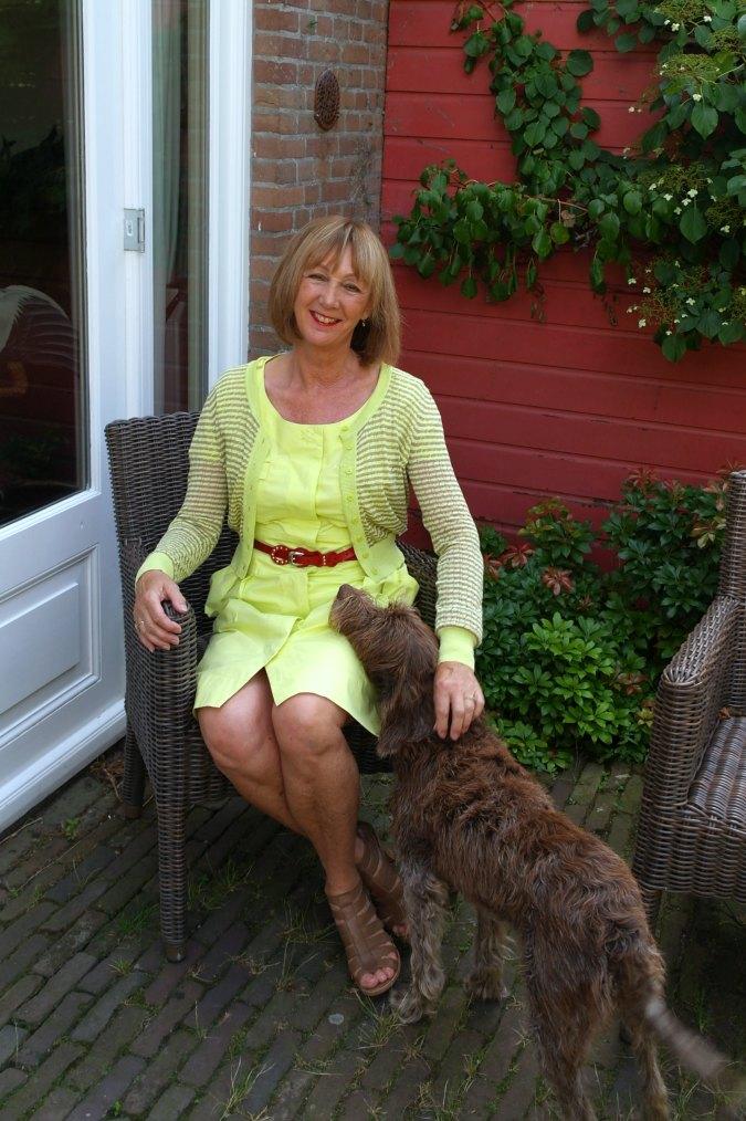 Yellow summer dress 9