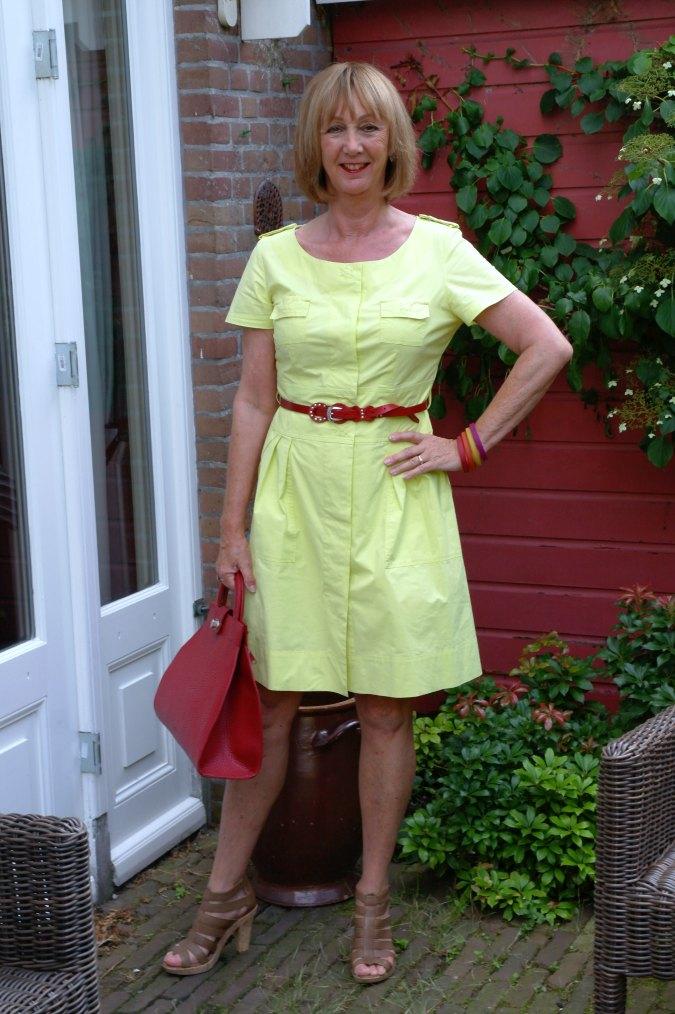 Yellow summer dress 9a