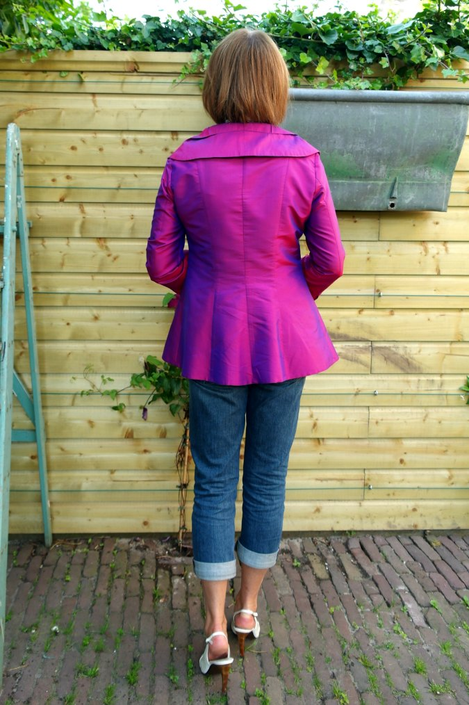 Purple silk jacket 3
