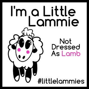 I'm a Little Lammie Button