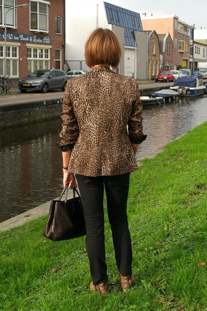 Animal print jacket 4