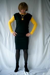 Black tara Jarmon dress 2