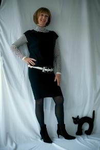 Black tara Jarmon dress 5