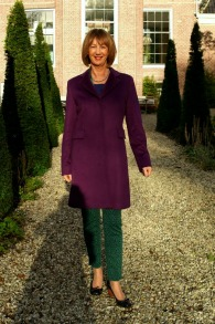 Max Mara coat and green outfit 2