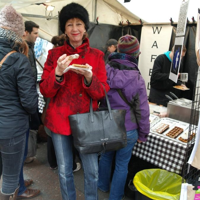 Shopping in Amsterdam… at the Albert Cuyp market