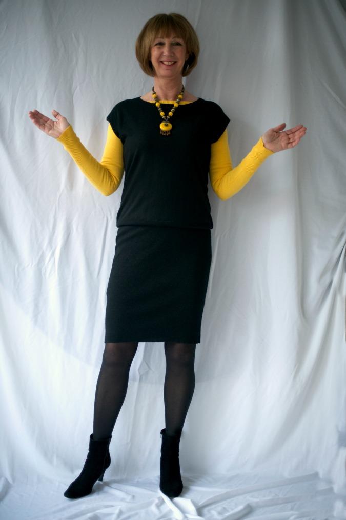 Black tara Jarmon dress 1