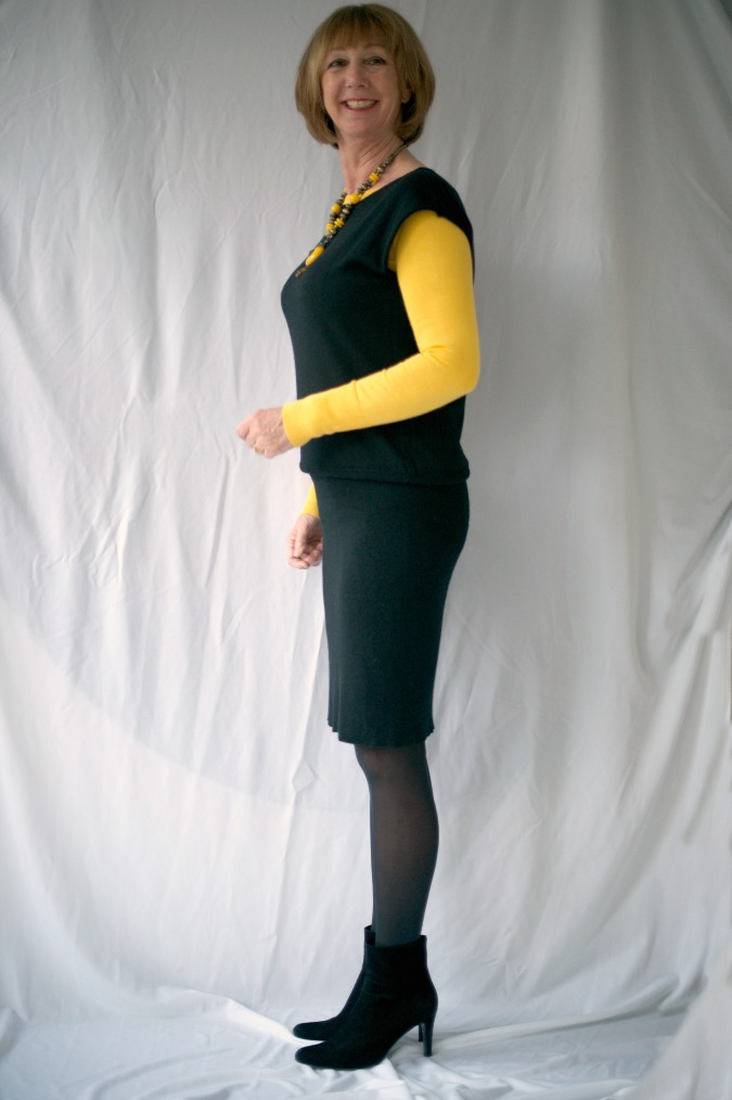 Black tara Jarmon dress 3