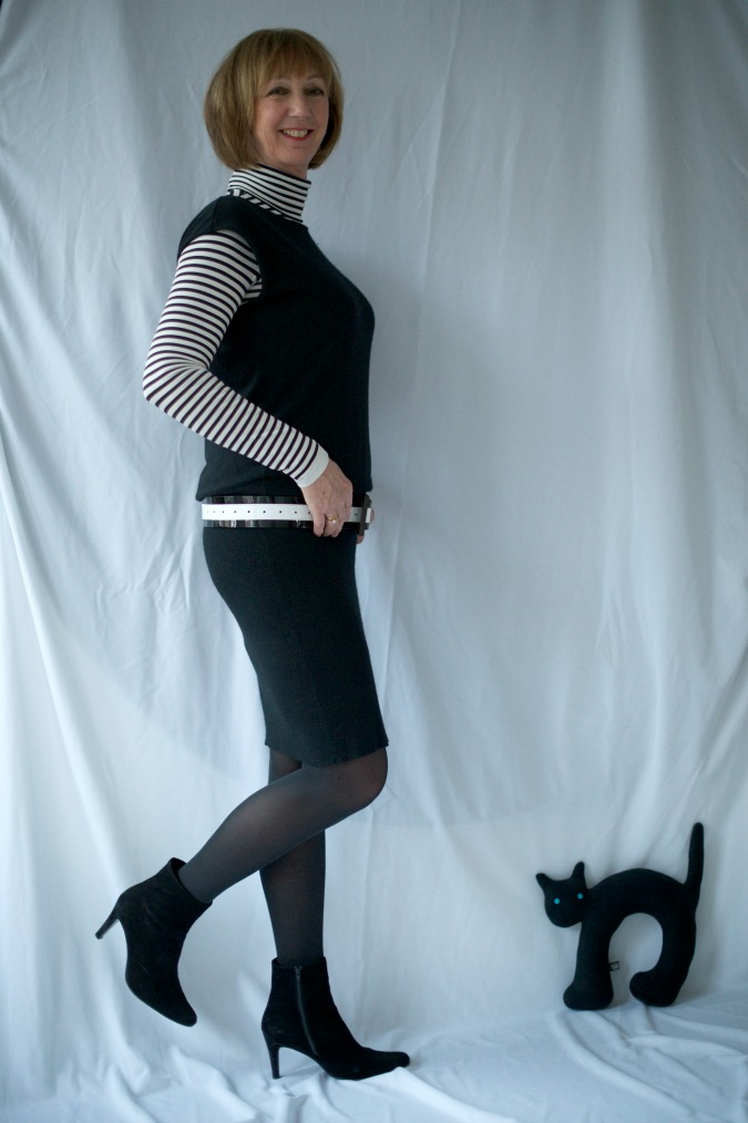 Black tara Jarmon dress 6