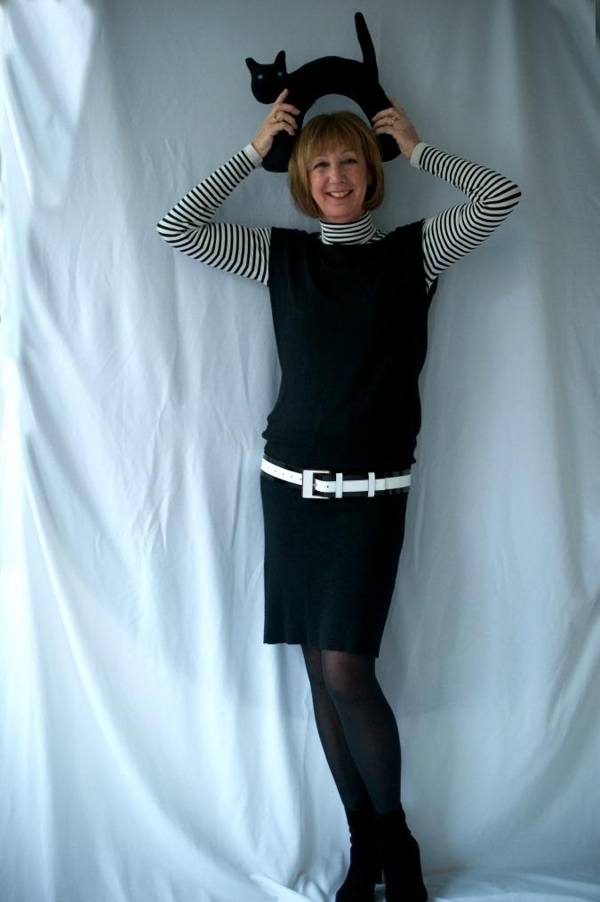 Black tara Jarmon dress 7