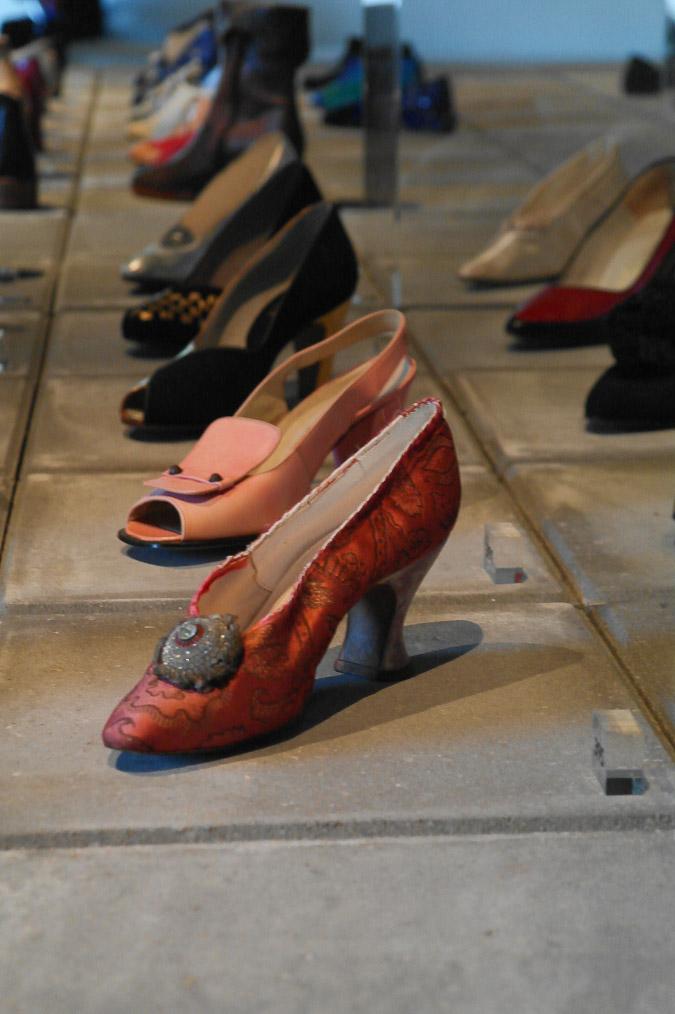 Shoe exhibition