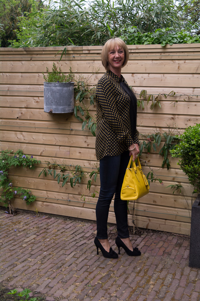 Yellow polka dot blouse (7)