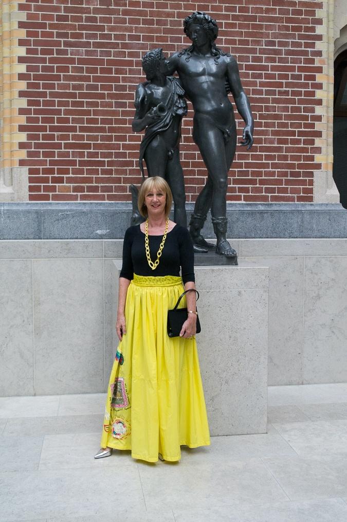 Yellow skirt (1)